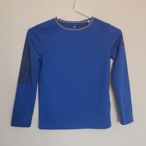 Addidas Climacool blue long sleeve top